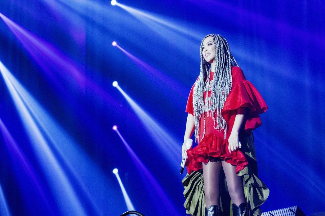 張惠妹宣布跨年要在台東舉辦免費演唱會。圖/EMI提供