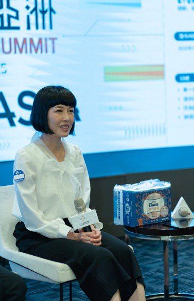 金百利克拉克公共事務經理楊永玲。 圖/Impact Hub Taipei提供