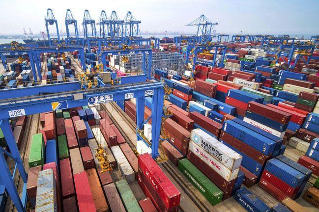 最新的「貿易戰」勝負評分表顯示,如今是中國大陸居於領先地位。圖/美聯社