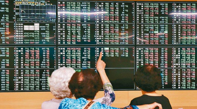 台股今日大跳水,開低走低,盤中跌逾250點,失守12,500以及12,400關卡。 圖/聯合報系資料照片