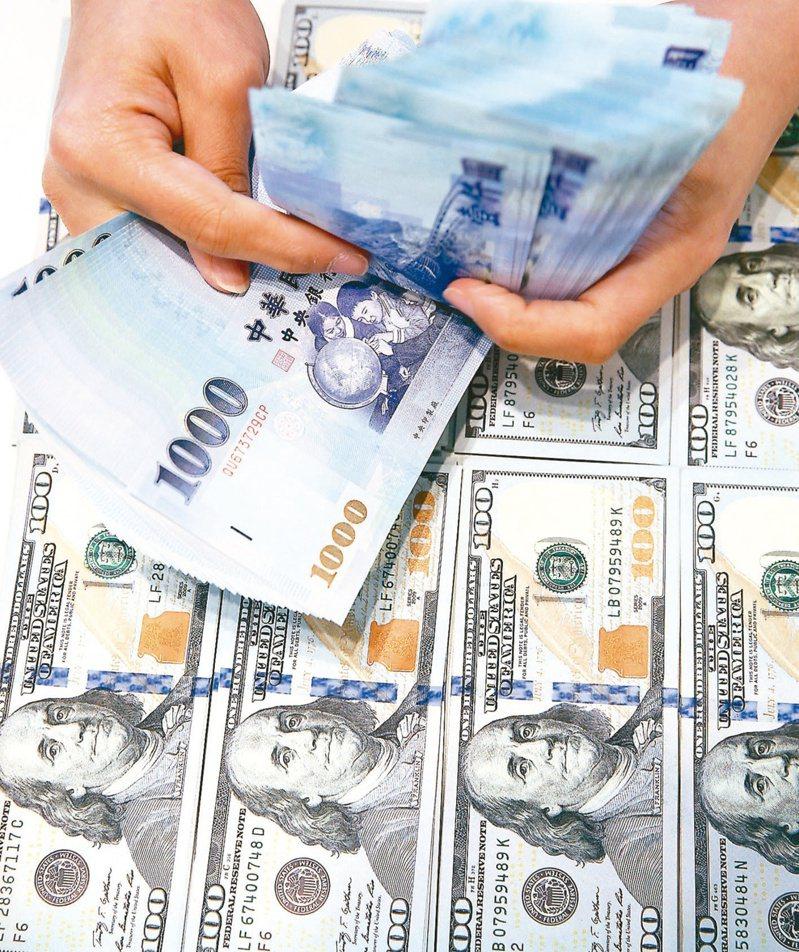 台股重挫逾300點,新台幣匯率今(24)日重挫1.02角.收在29.318元,為近兩周新低。 報系資料照