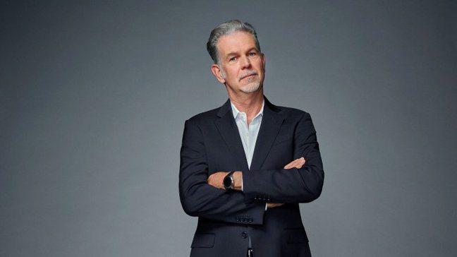 美國串流影音網站Netflix共同創辦人哈斯汀(Reed Hastings)。 ...