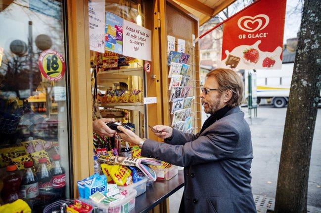 瑞典人使用無現金支付比率全球最高。 網路照片