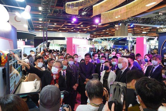 9 月 24 至 26 日在臺北世貿一館,配合台灣創新技術博覽會之未來科技館聯合...