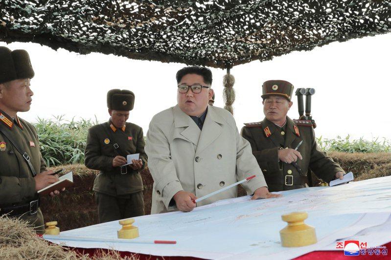北韓領導人金正恩。(歐新社)
