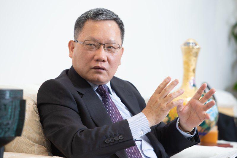 專訪財政部長蘇建榮。 圖/聯合報系資料照片