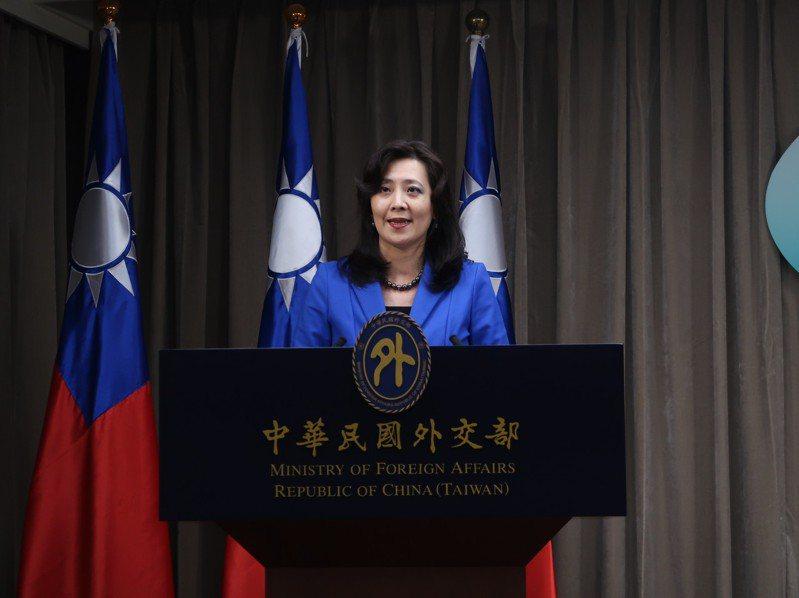 外交部發言人歐江安。聯合報系記者徐偉真/攝影