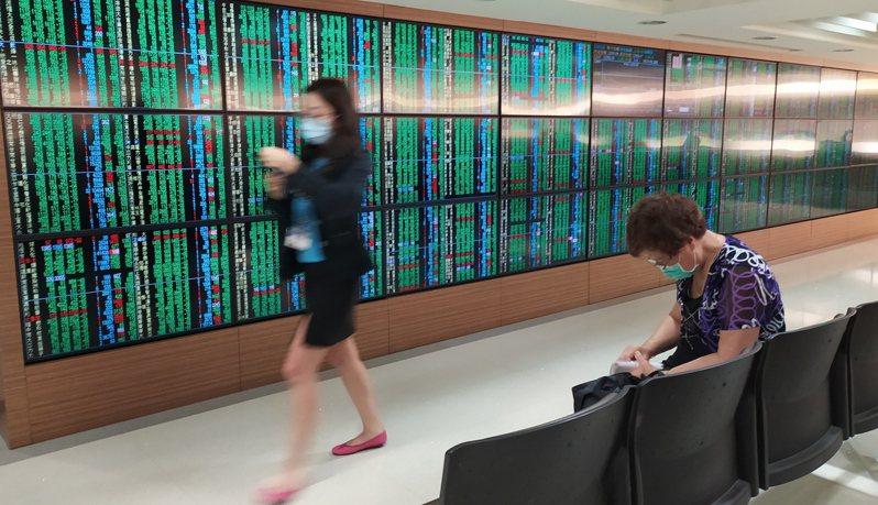 台股今(24日)重挫319點,失守12300點。 聯合報系資料照片/記者林俊良攝影