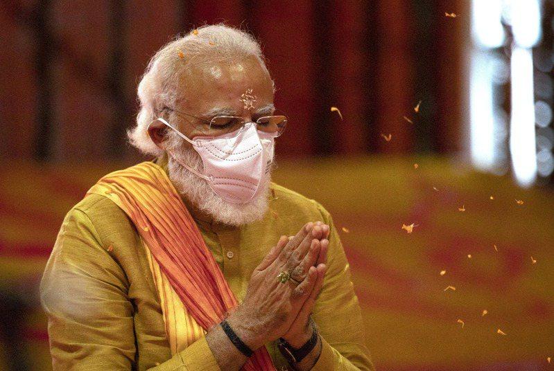 印度總理莫迪。美聯社