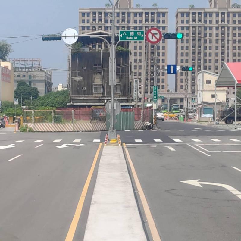 台中市長盧秀燕上後後,積極縫合中西、東南區,武德街拓寬案可望讓大智路打通後,通勤更為順暢。圖/台中市都發局提供