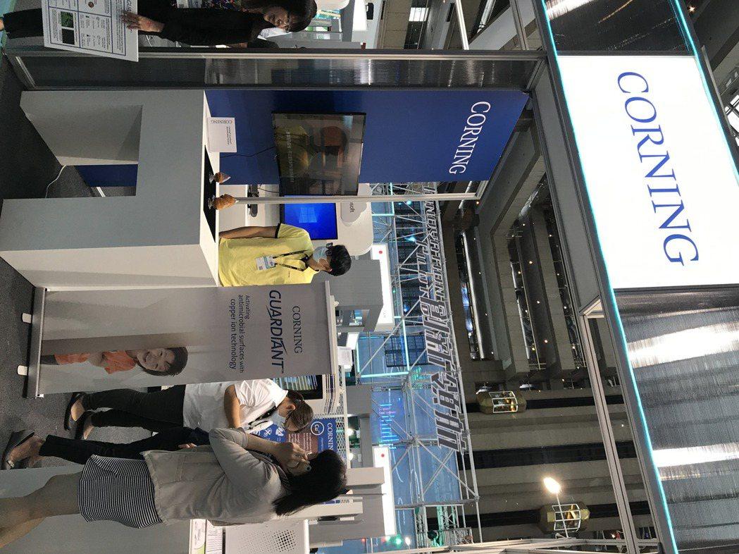 康寧於2020台灣創新技術博覽會 首次展出創新研發技術。記者李珣瑛/攝影