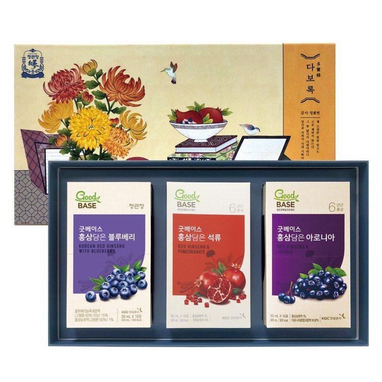 「燦光蔘之禮」門市限定禮盒,燦光閃耀價2,380元。圖/台灣正官庄提供