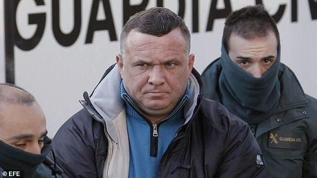 被指控盜書的組織與羅馬尼亞著名犯罪家族「克蘭帕魯」有關,圖為主要成員伊安克蘭帕魯...