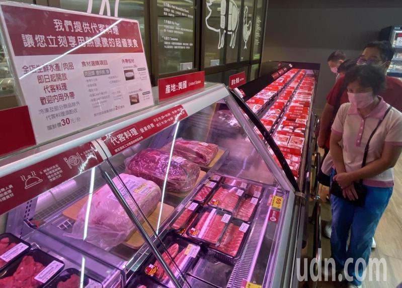 台中市食品藥物安全處今天說,台中市堅持「瘦肉精零檢出」立場,肉品產地標示即日起採兩階段管理。記者趙容萱/攝影