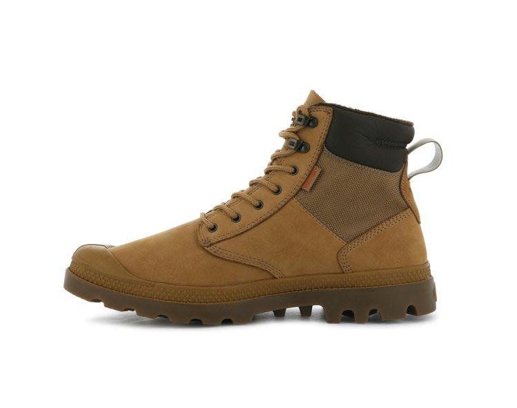 Palladium橘標防水神盾SHIELD系列靴款4,280元。圖/Pallad...