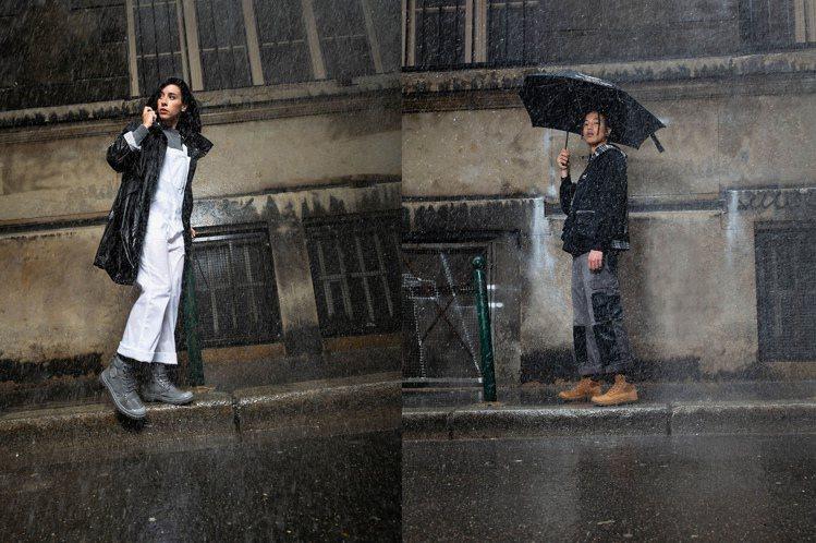 Palladium推出全新的橘標防水SHIELD靴款,讓潮流人士無懼下雨天,依舊...
