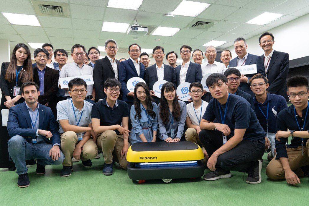 鴻海、凌華合資法博智能移動FARobot掛牌成立。圖/鴻海提供