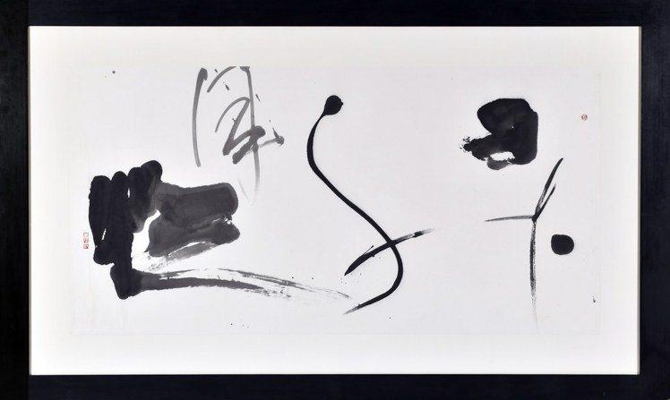 羅芙奧ALL IN專場推出拍品之一為董陽孜作品「日升月恆」。圖/羅芙奧提供