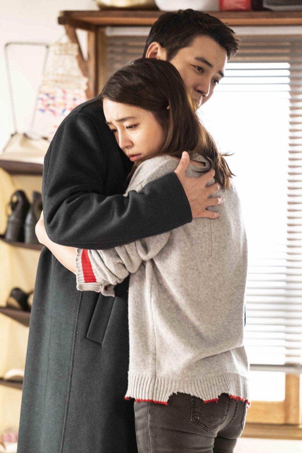 朱相昱(左)、李珉廷二度合作,演出「像極了愛情」。圖/八大電視提供