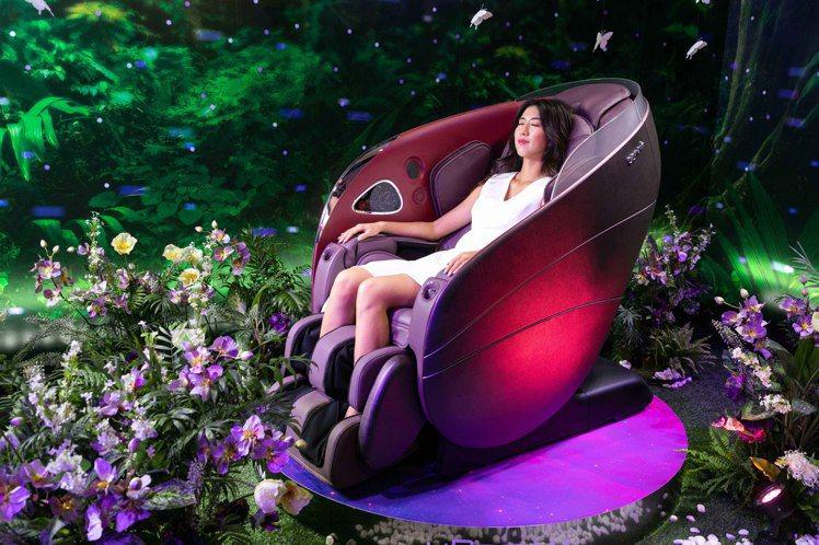 OSIM推出全新「uDream 5感養身椅」,結合AI科技,匯集視覺、聽覺、嗅覺...