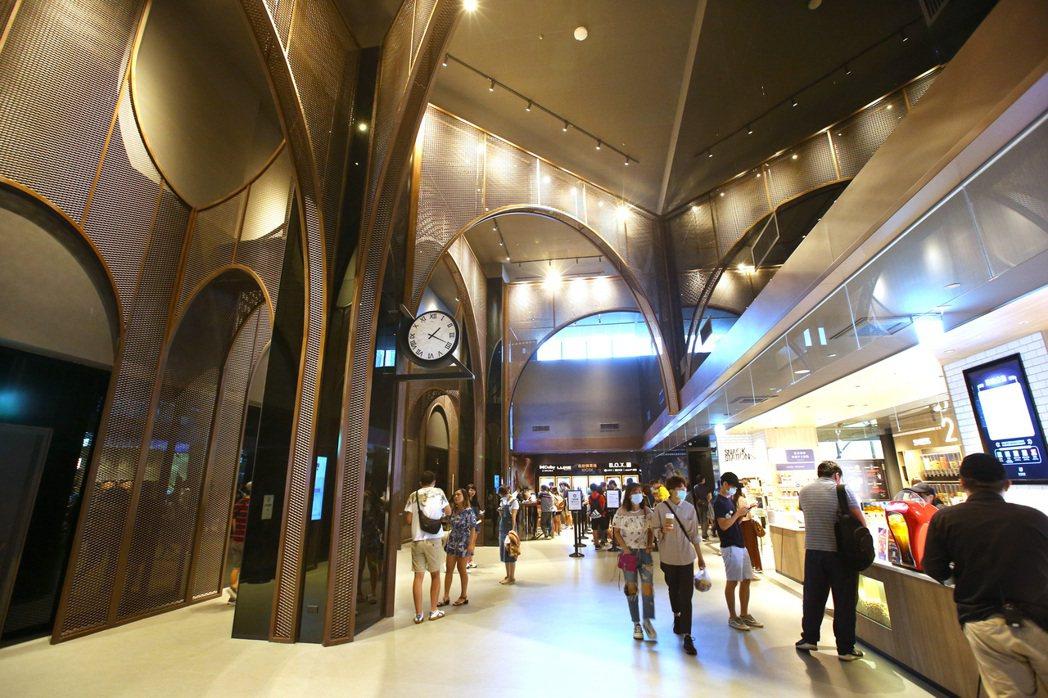 桃園新光影城是目前全台最時髦的影城。記者林澔一/攝影