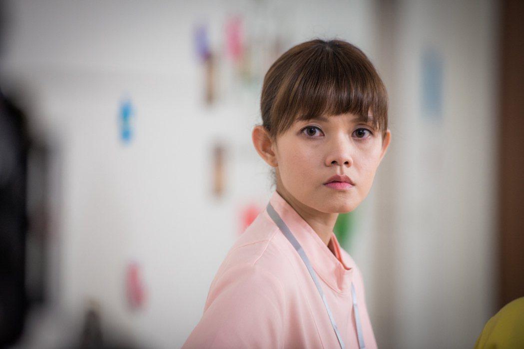 李劭婕在「烏陰天的好日子」中飾演一名護理師。圖/客台提供