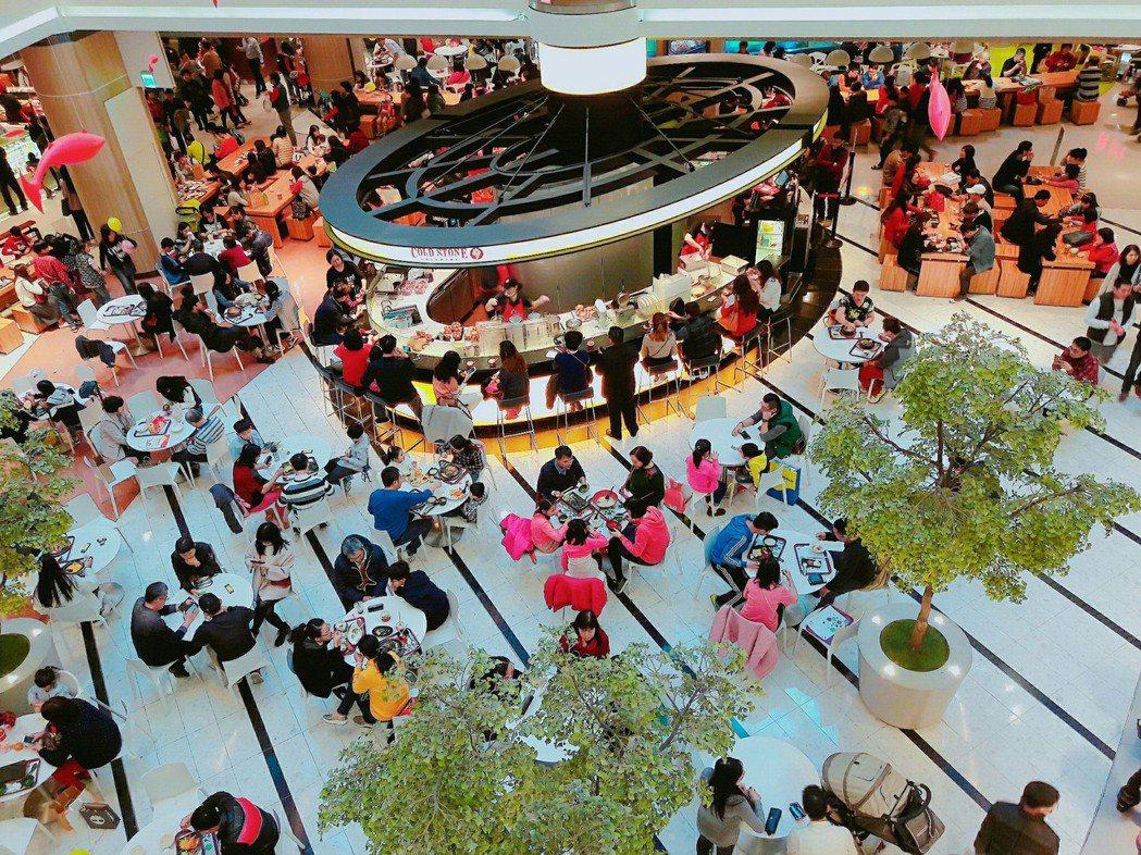 大江購物中心今年業績目標58億元,預計再創歷年新高。圖/大江購物中心提供