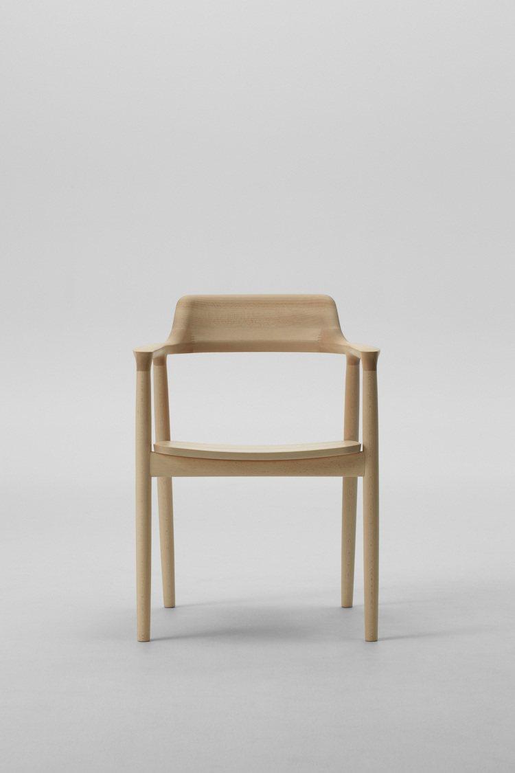 日本品牌Maruni-Hiroshima High廣島扶手椅。圖/MOT提供