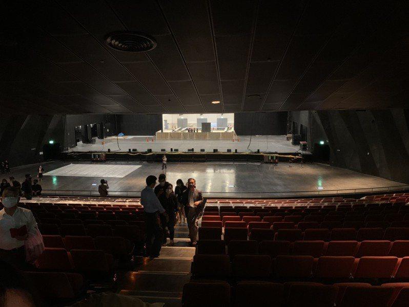 台北流行音樂中心2樓身障席挨批不友善。記者趙宥寧/攝影