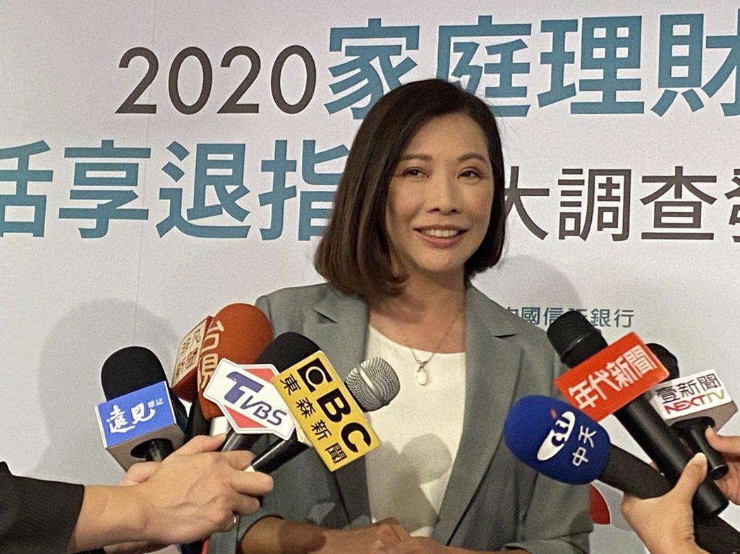 中國信託商業銀行個人金融副執行長楊淑惠。記者陳怡慈/攝影