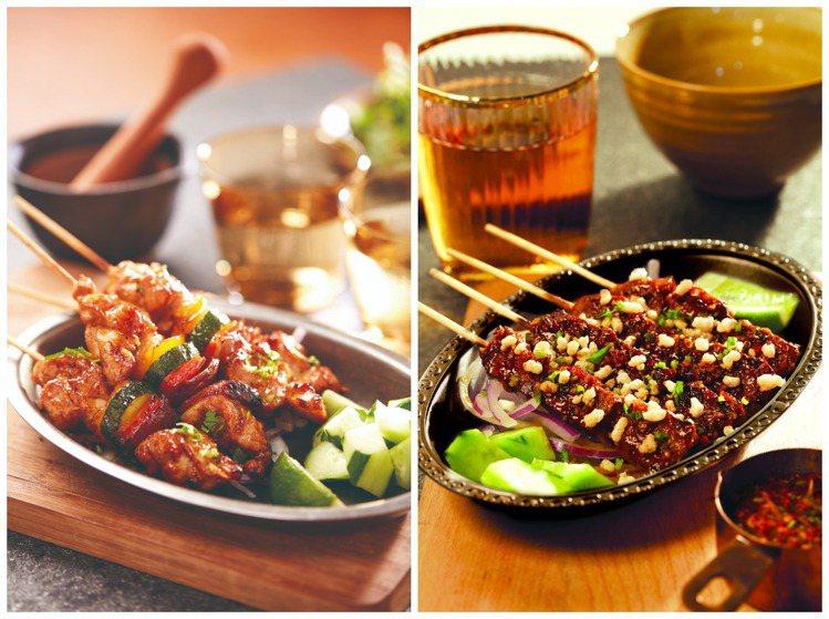 「月月泰BBQ」主打創新泰式串燒BBQ。圖/瓦城提供