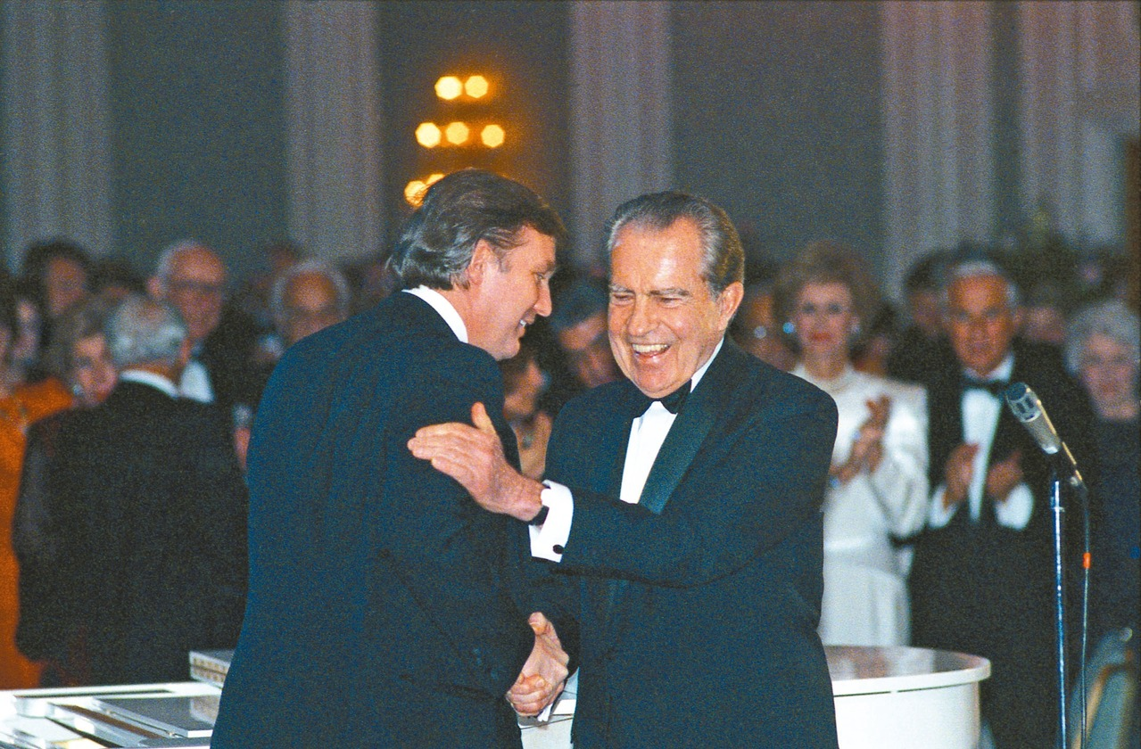 10年筆友情...川普與尼克森忘年交
