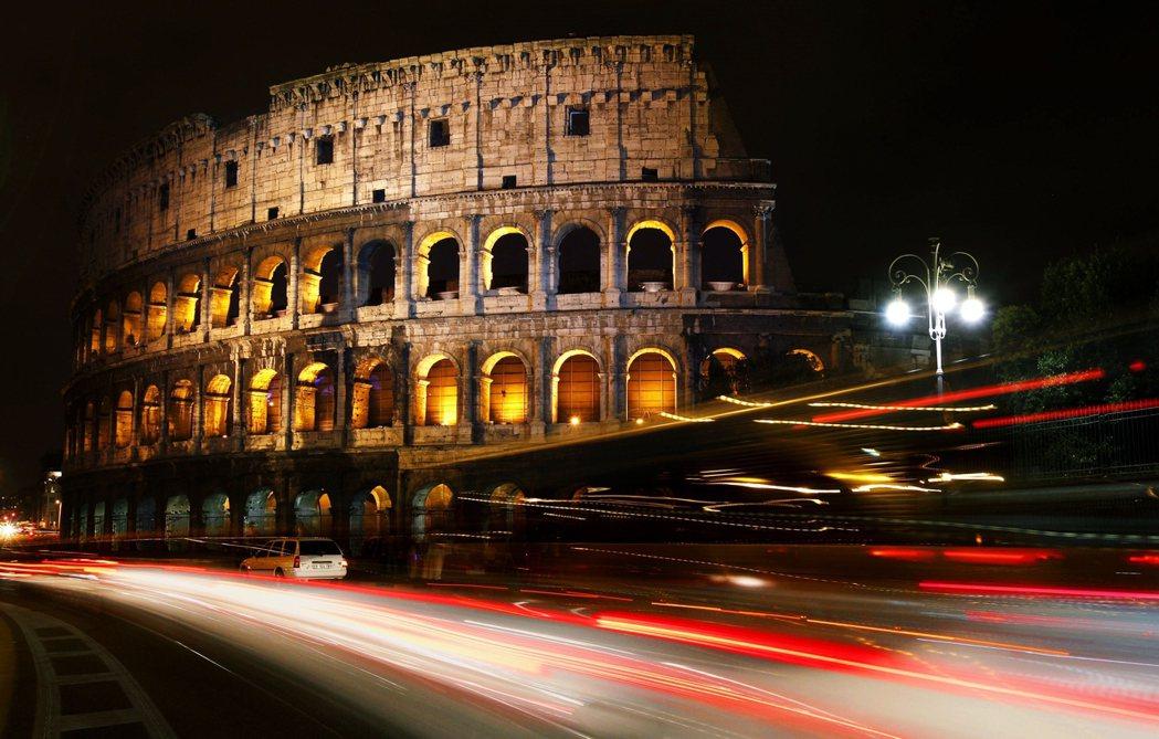圖為羅馬競技場。 圖/路透社