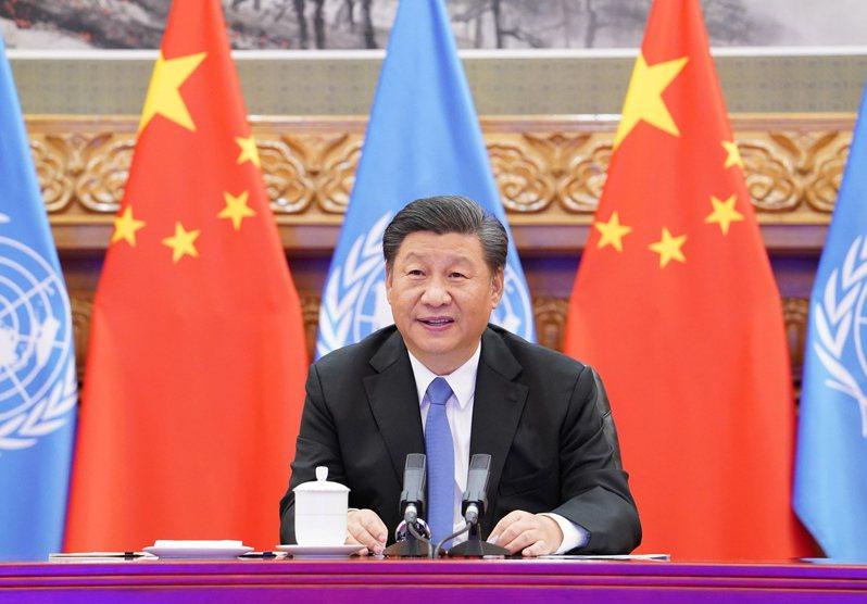 美國政治學者夏明分析,疫情讓中國陷入空前的外交孤立,隨著國際壓力日漸增強,北京有轉攻為守的態勢,可能暫時放下「戰狼外交」。圖為中國大陸國家主席習近平。 新華社
