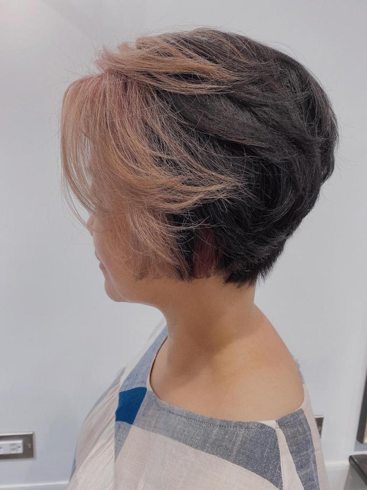 髮型創作/HD hair design / 紅豆豆,圖/StyleMap美配提供