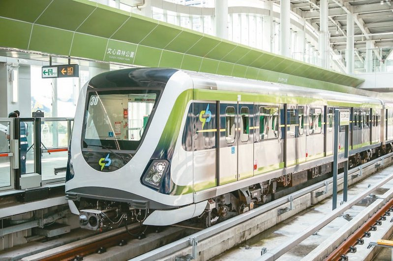 台中捷運綠線。圖/台中市交通局提供