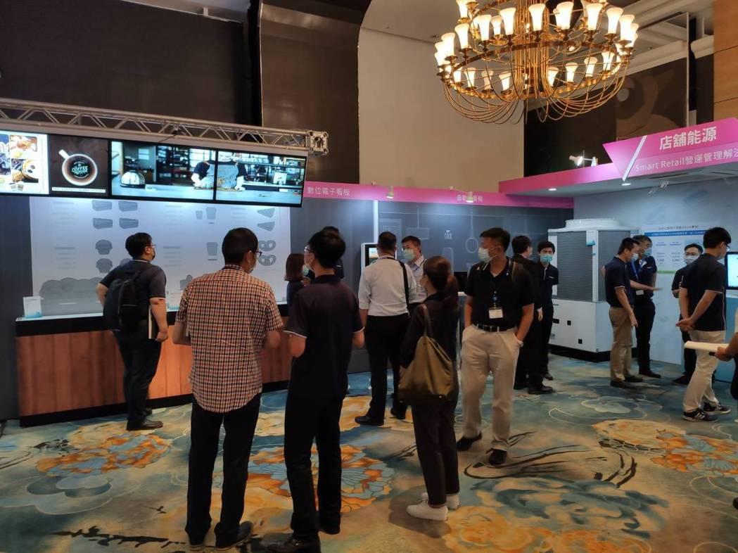 Panasonic 2020年度整合方案新商品展示會,涵蓋主題區域包括交通通訊、...