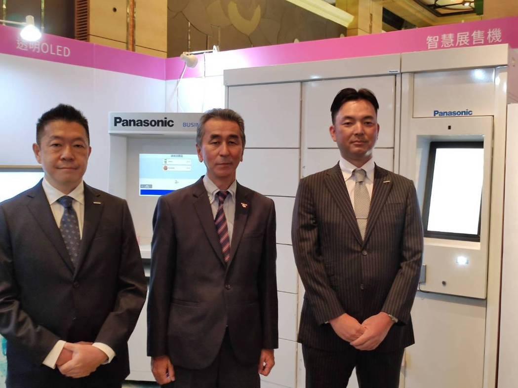 台灣松下銷售公司舉辦「Panasonic 2020年度整合方案新商品展示會」,左...