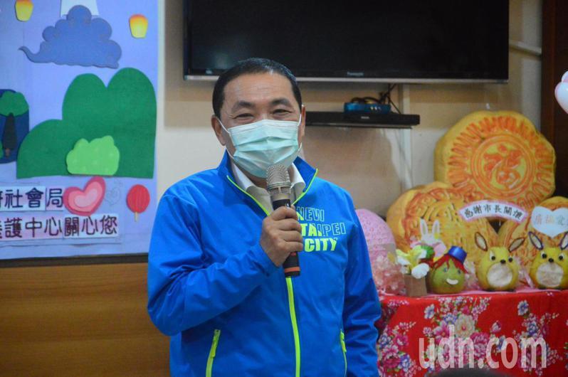 新北市長侯友宜認為稽查安養機構確保公安是市政工作,沒有和台北市長柯文哲較勁的意思。記者施鴻基/攝影