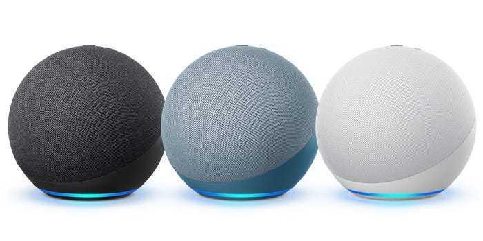 亞馬遜發表全新的球形智慧音箱Echo。網路照片
