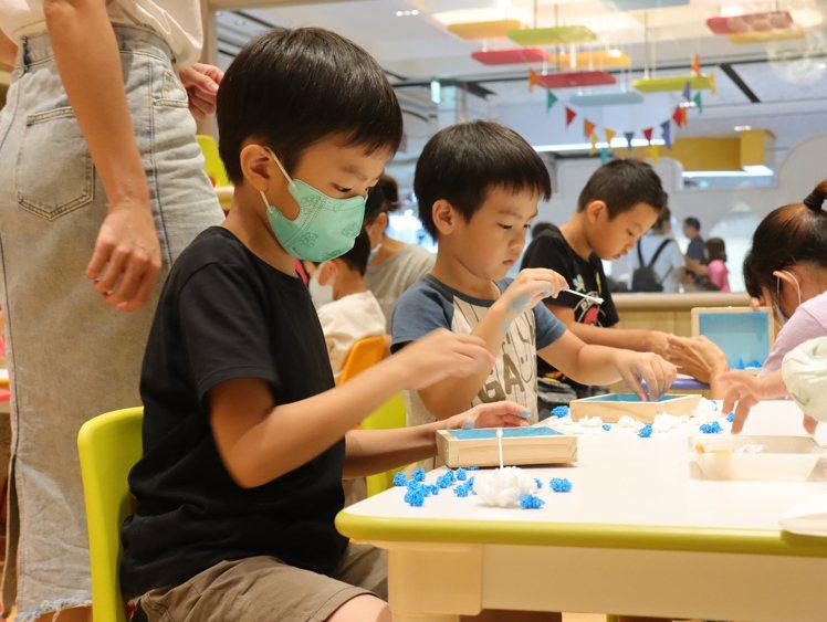 親子育樂設施是宏匯廣場一大特色。圖/宏匯廣場提供
