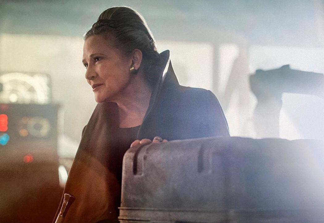 嘉莉費雪扮演「莉亞公主」的身影讓影迷永遠懷念。圖/摘自Instagram