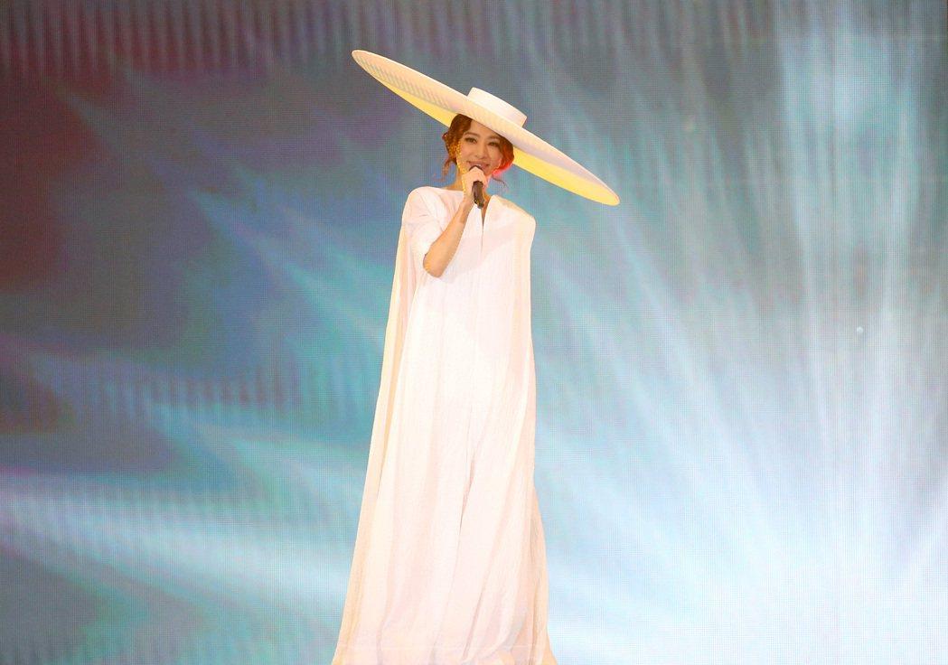 田馥甄「一一」巡演首場今晚自台北小巨蛋起跑。記者余承翰/攝影