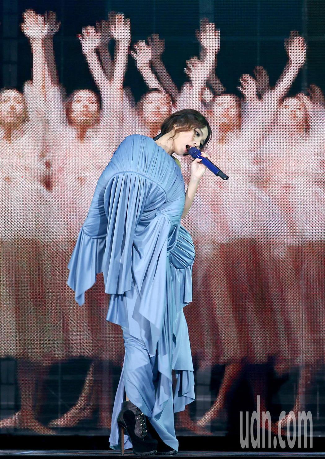 田馥甄「一一」巡迴演唱會首場今晚自台北小巨蛋起跑。記者余承翰/攝影