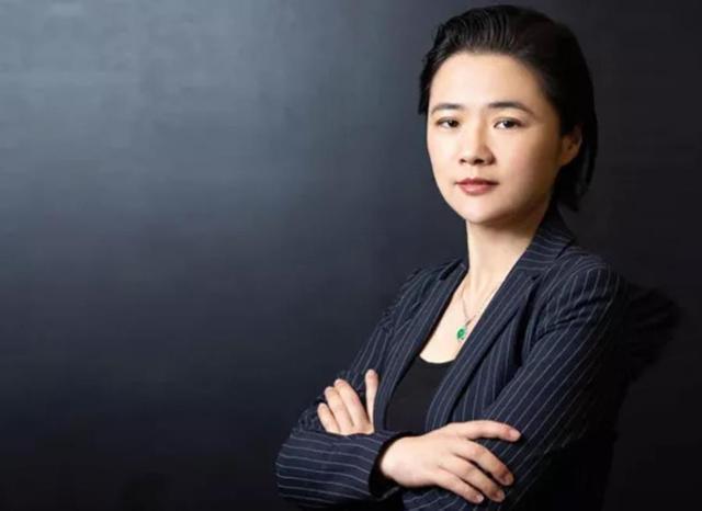 PayPal 高級副總裁兼中國區CEO邱寒。取自環球網