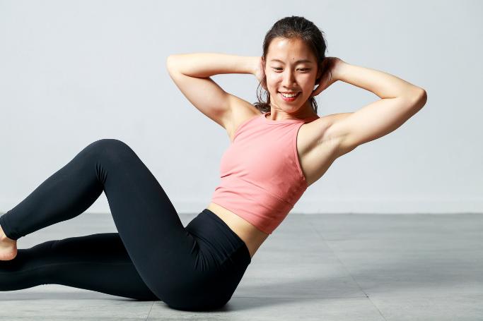 健身教練珍珍建議退休族可以將運動融入日常。 記者陳軍杉/攝影