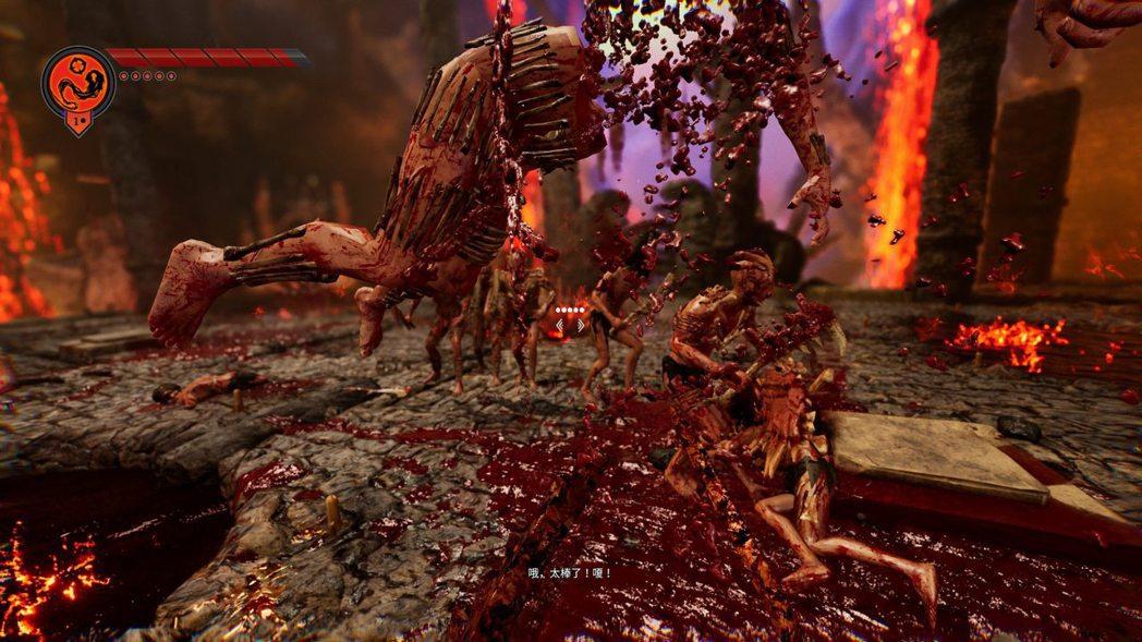 無雙部分有各種處決,血腥是基本的