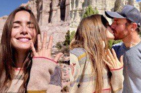 莉莉柯林斯點頭嫁了!IG浪漫發文「等不及要跟你共度一生了」,宣布將與導演男友訂婚