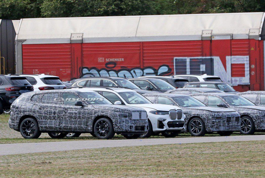 從傳言中跳入現實的全新BMW X8首次捕獲! 摘自Carscoops