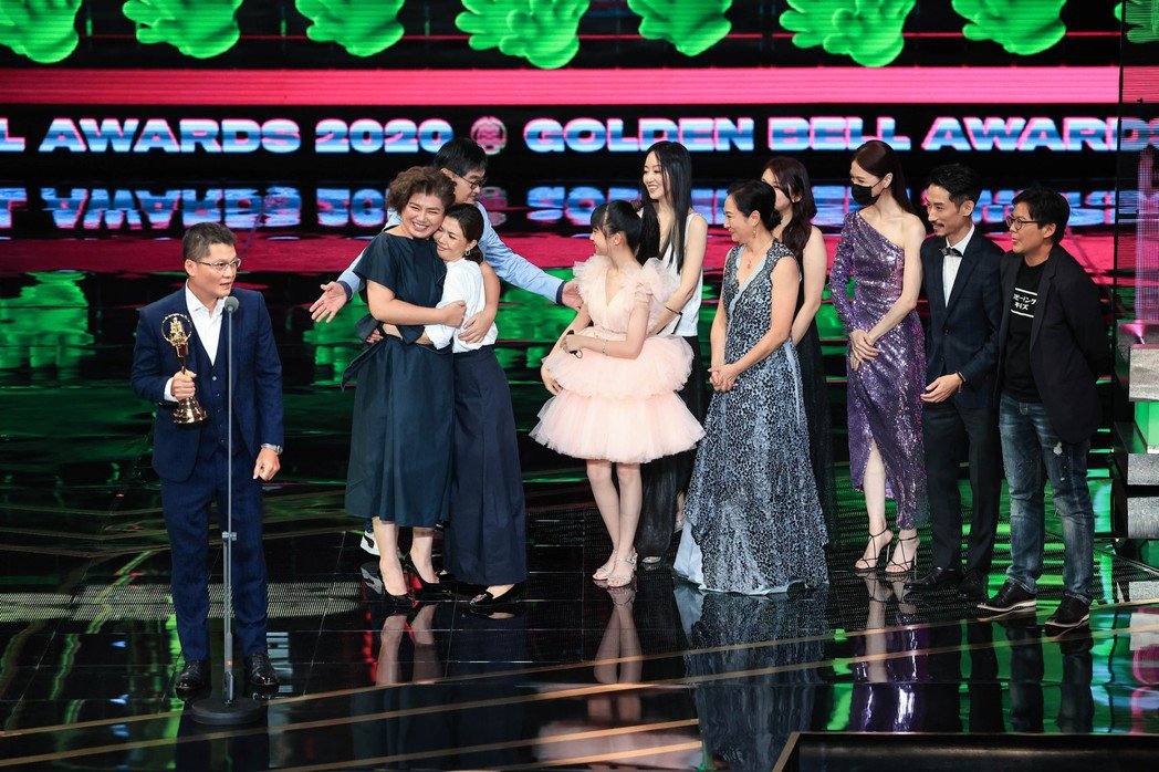 第55屆金鐘獎頒獎典禮在國父紀念館舉行,迷你劇集獎由俗女養成記獲得。記者林伯東/